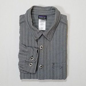 Patagonia Organic Cotton Long Sleeve Button-Up